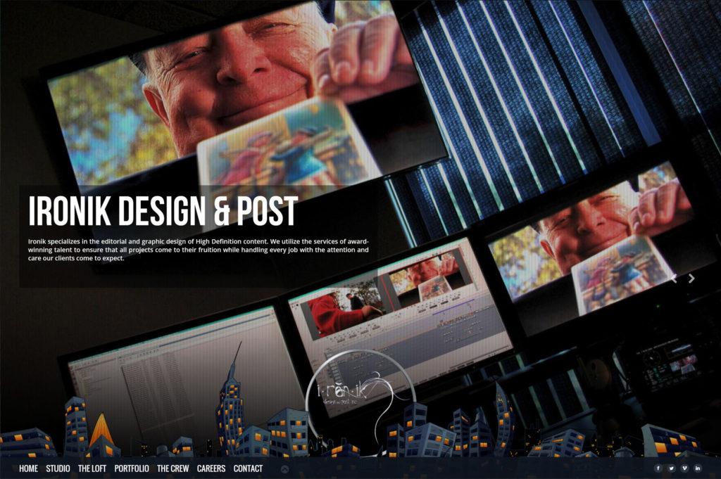 Ironik Design & Post